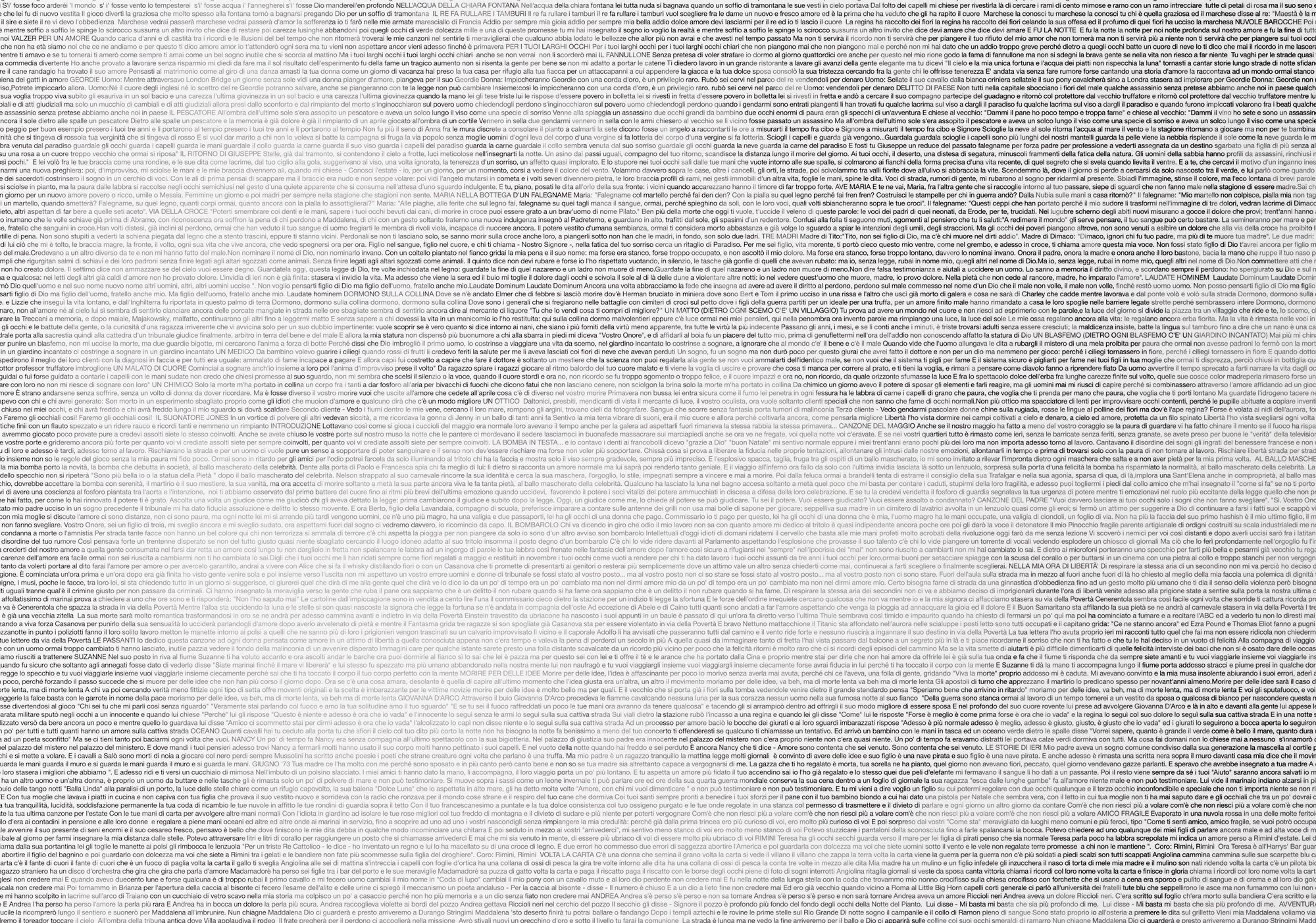 Emanuele De Donno | 100x100 De Andrè