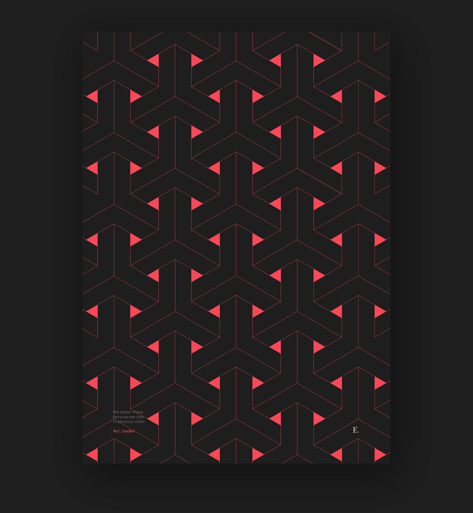 Tribute to Escher - 2