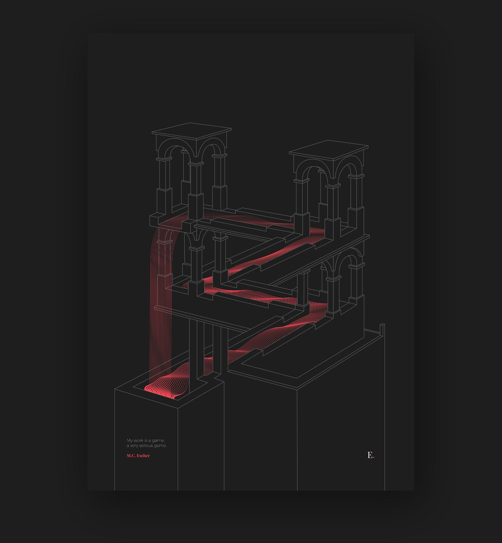 Tribute to Escher - 4