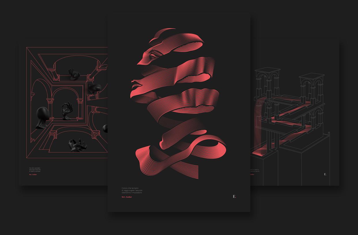 Tribute to Escher - Emanuele De Donno