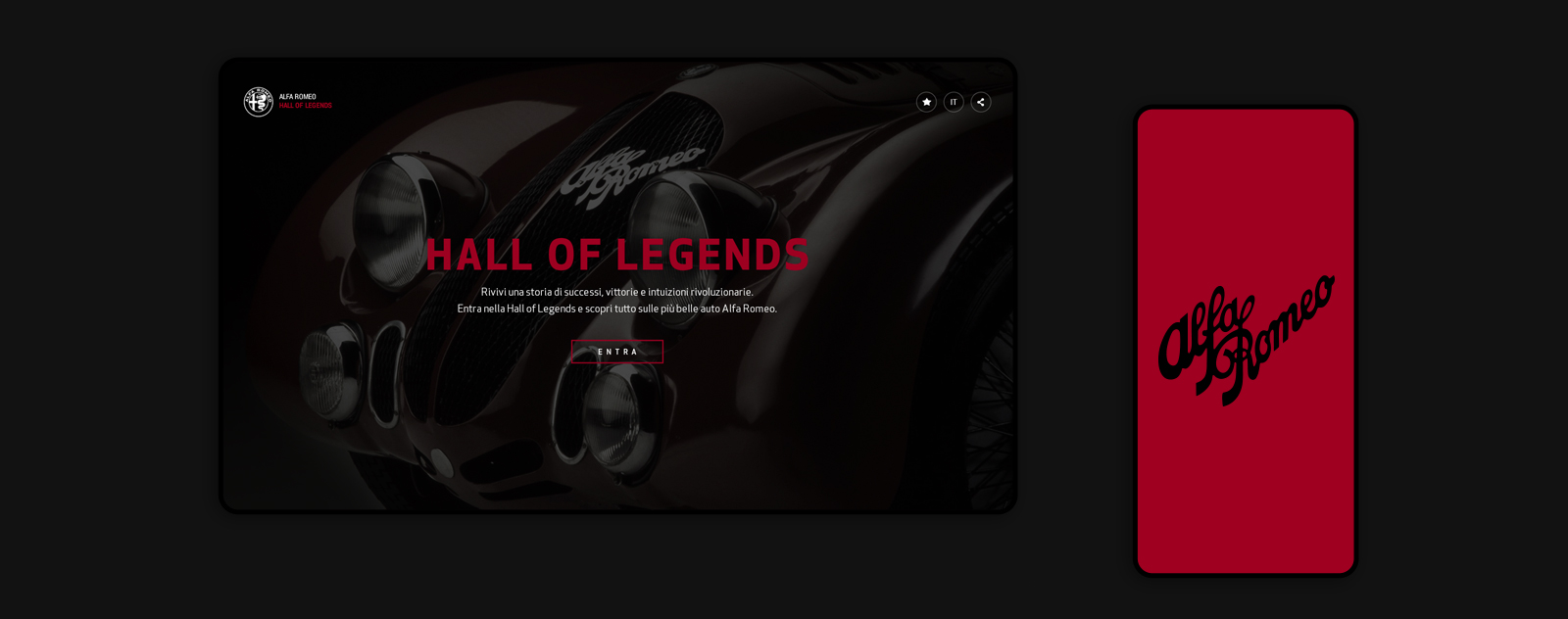 Hall of Legends - Alfa Romeo