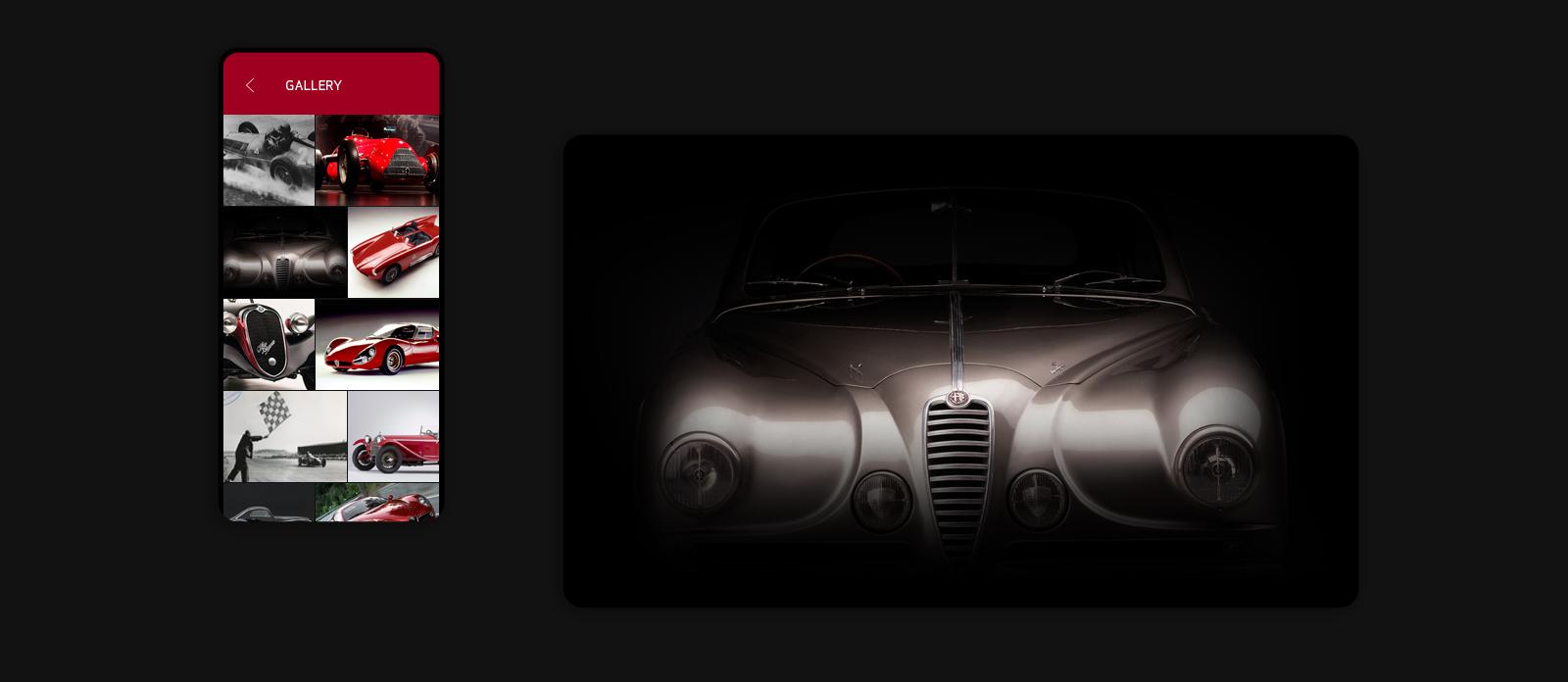 Hall of Legends - Alfa Romeo