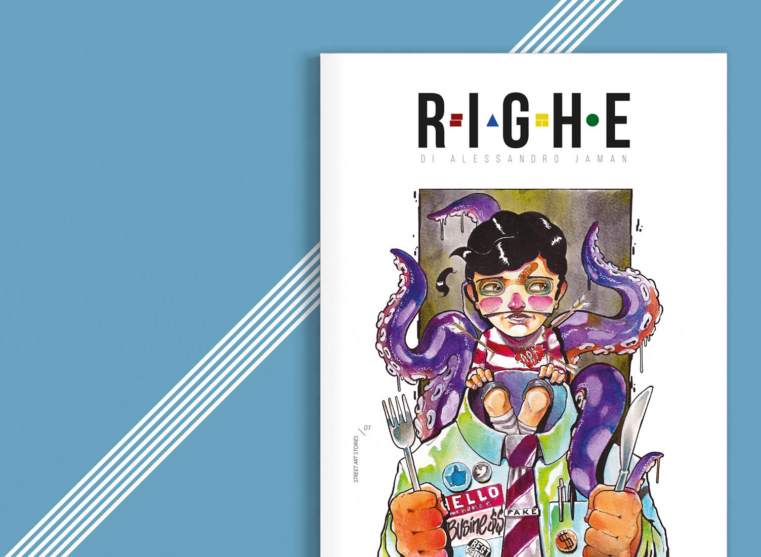 Righe by SAMO